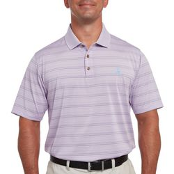 Pebble Beach Mens Fineline Stripe Polo Shirt