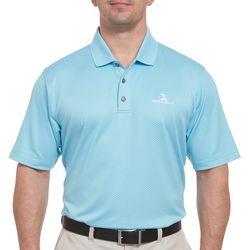 Pebble Beach Mens Oval Texture Polo Shirt