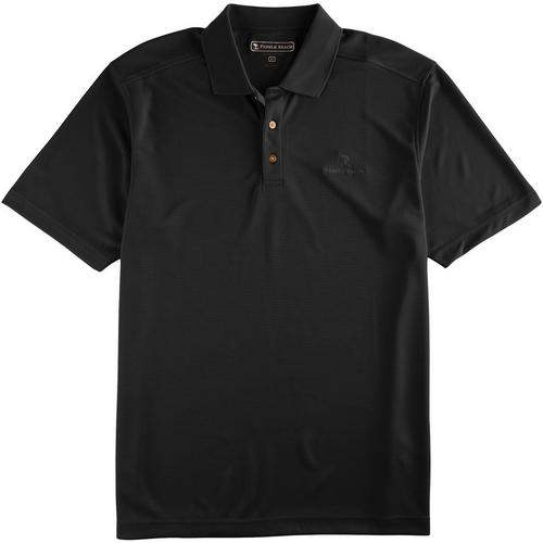 Pebble Beach Polo >> Pebble Beach Mens Classic Performance Polo Shirt