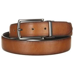 Boca Classics Mens Tan & Black Reversible Belt