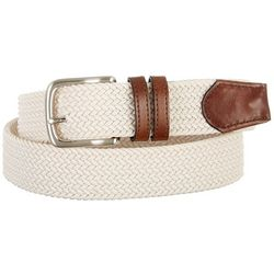 Boca Classics Braided Stretch Fabric Belt
