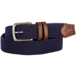 Boca Classics Braided Stretch Fabric Belt