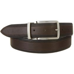 Boca Classics Mens 35mm Reversible Soft Touch Belt