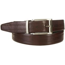 Boca Classics Mens Reversible Center Stitch Belt