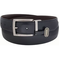 IZOD Mens Leather Reversible Belt