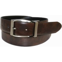 IZOD Mens Leather Mottled Reversible Belt