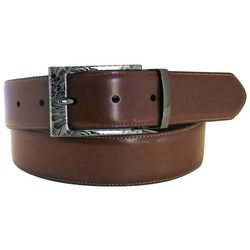 Tallia Mens 38mm Cut Edge Reversible Belt