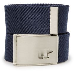 Jack Nicklaus Mens Logo Web Golf Belt