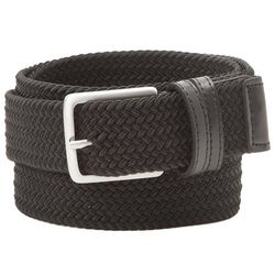 Dockers Mens Big & Tall Khaki Braided Stretch Belt