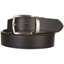 Columbia Mens Cut Edge Reversible Leather Belt
