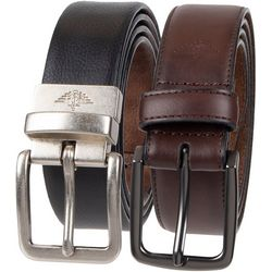 Dockers Mens 2-pk. Stretch Belts