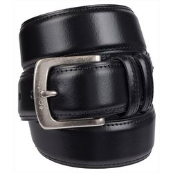 Columbia Mens Drop Edge Leather Belt