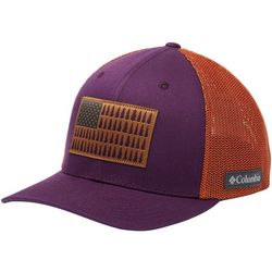 Columbia Mens Flexfit Tree Flag Mesh Hat