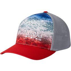 cf602a29abe Columbia Mens Camo Mesh Americana Fade Hat