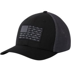 Columbia Mens PFG Mesh Fish Flag Hat