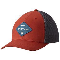 Columbia Mens PFG Logo Mesh Snapback Hat