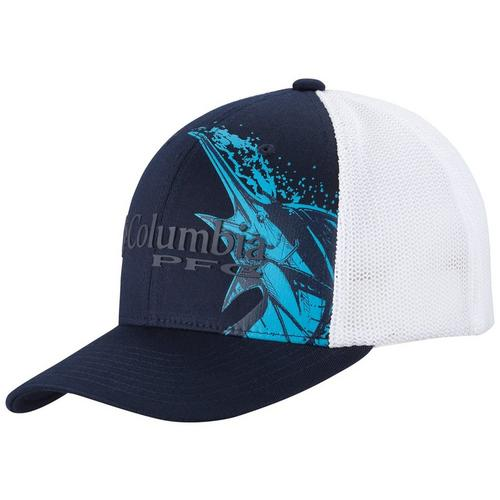 d9504b10041 Columbia Mens PFG Marlin Mesh Snapback Hat