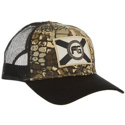 FloGrown Mens Gator Camo Flag Hat