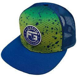FloGrown Mens Mahi Scales Authentic Logo Trucker Hat