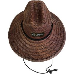 FloGrown Mens Gator Straw Hat