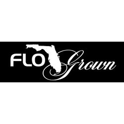 FloGrown Large Script Decal
