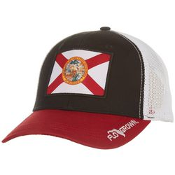 FloGrown Mens Florida Flag Trucker Hat