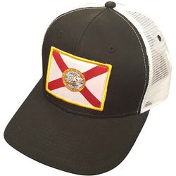 FloGrown Mens Flag Trucker Hat