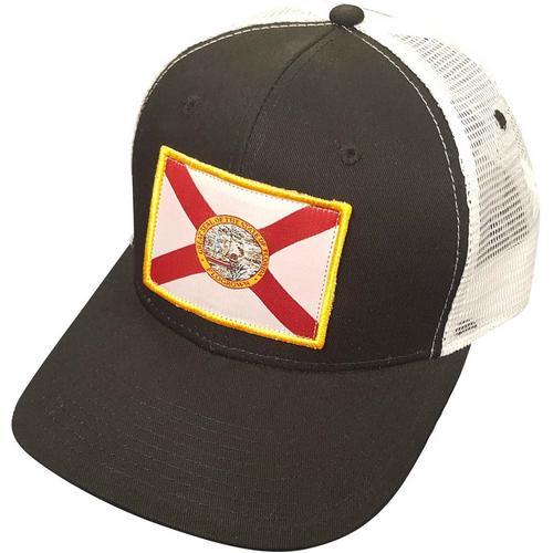 fc44cad4388 FloGrown Mens Flag Trucker Hat