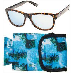 Panama Jack Mens Brown Tortoise Polarized Sunglasses