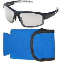 Panama Jack Mens Blade Polarized Sunglasses