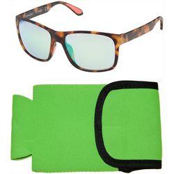 Panama Jack Mens Polarized Brown Sunglasses