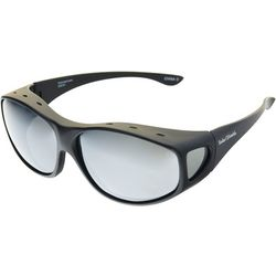 Solar Shield Mens Sport Tapered Rectangle Sunglasses