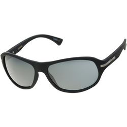 Dockers Mens Wrap Frame Polarized Sunglasses