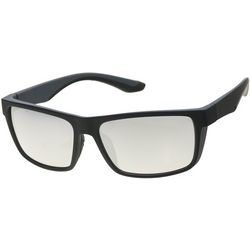 Dockers Mens Square Wrap Polarized Sunglasses