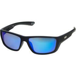Dockers Mens Rectangle Wrap Sunglasses