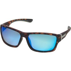 Dockers Mens Polarized Tortoise Wrap Sunglasses