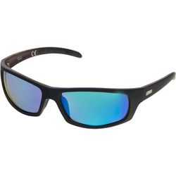 Dockers Mens Polarized Wrap Sunglasses
