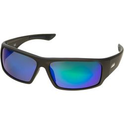 Dockers Mens Polarized Wrap Sport Sunglasses