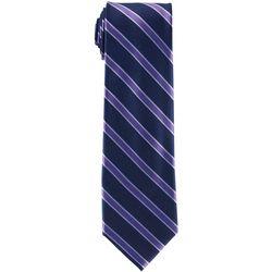 Tommy Hilfiger Mens Bedford Stripe Print Tie
