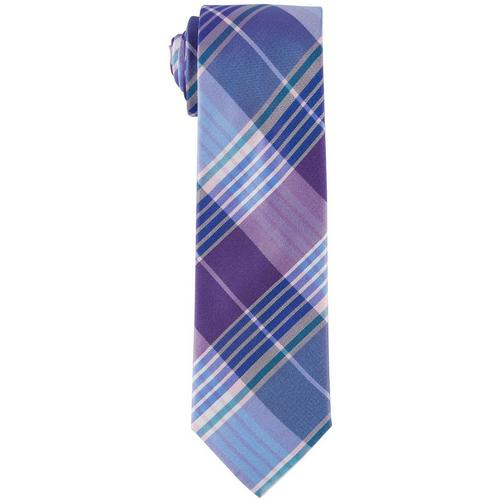 6581ecf5bdfb4 Tommy Hilfiger Mens Large Plaid Print Tie