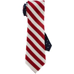 Tommy Hilfiger Mens Stars & Stripes Print Tie