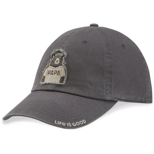 Life Is Good Mens Papa Bear Tattered Chill Hat