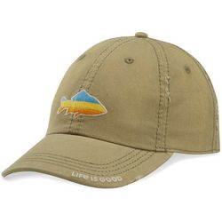 Life Is Good Mens Fish Sunwashed Chill Hat
