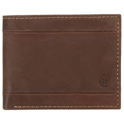 Boca Classics Mens Leather Passcase Wallet