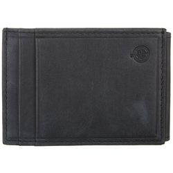 Boca Classics Mens Leather Magnetic Wallet