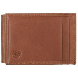 Boca Classics Mens Leather Magnetic Wallet