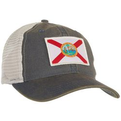 Florida Strong Mens Florida Flag Trucker Hat