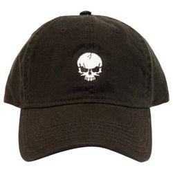 Concepts Mens Skull Embroidery Cap