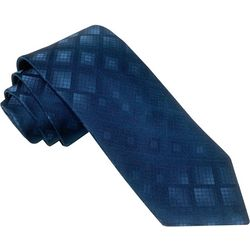 Rooster Mens Parquet Jacquard Tie