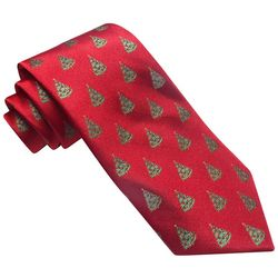 Hallmark Mens Christmas Tree Lights Tie